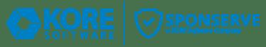 KORE Software _ Sponserve Combined Logo-01